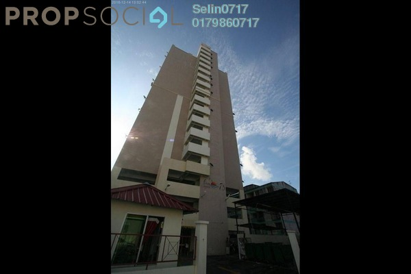 For Rent Apartment at Casa Impian, Jelutong Freehold Fully Furnished 4R/2B 1.25k