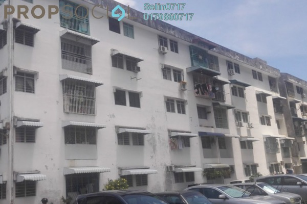 For Sale Apartment at Desa Intan, Farlim Freehold Semi Furnished 3R/1B 165k