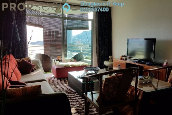 For Sale Condominium at The Waterfront, Tanjung Bungah Freehold Fully Furnished 3R/2B 1.3Juta