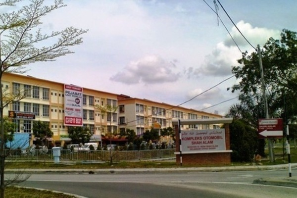 For Rent Apartment at Dataran Otomobil, Shah Alam Leasehold Unfurnished 3R/2B 1k