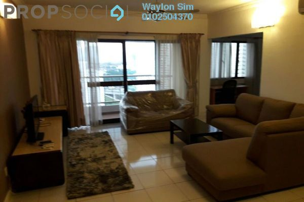 For Rent Condominium at Angkupuri, Mont Kiara Freehold Fully Furnished 4R/2B 3.8k