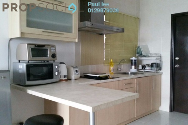 For Rent Condominium at Casa Tiara, Subang Jaya Freehold Fully Furnished 0R/1B 1.7k