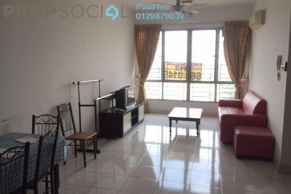 For Rent Condominium at Casa Tiara, Subang Jaya Freehold Fully Furnished 3R/2B 2.35k
