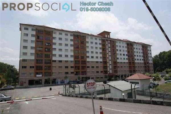 For Sale Apartment at D'Cahaya Apartment, Bandar Puchong Jaya Freehold Semi Furnished 3R/2B 360k