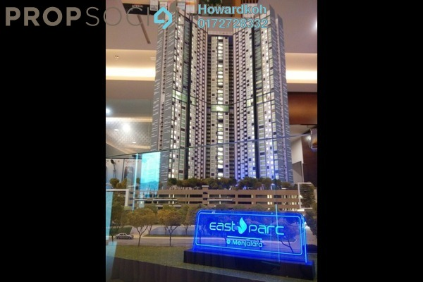 For Sale Serviced Residence at East Parc @ Menjalara, Bandar Menjalara Leasehold Semi Furnished 1R/1B 372k