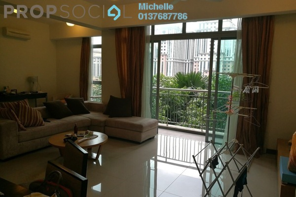 For Rent Serviced Residence at Hampshire Residences, KLCC Freehold Fully Furnished 2R/2B 4k