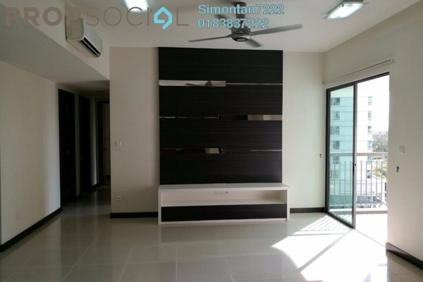For Sale Condominium at Nautica Lake Suites @ Sunway South Quay, Bandar Sunway Leasehold Semi Furnished 3R/2B 1.1m