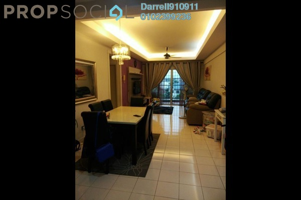 For Sale Apartment at Mandy Villa, Segambut Leasehold Unfurnished 3R/2B 410k