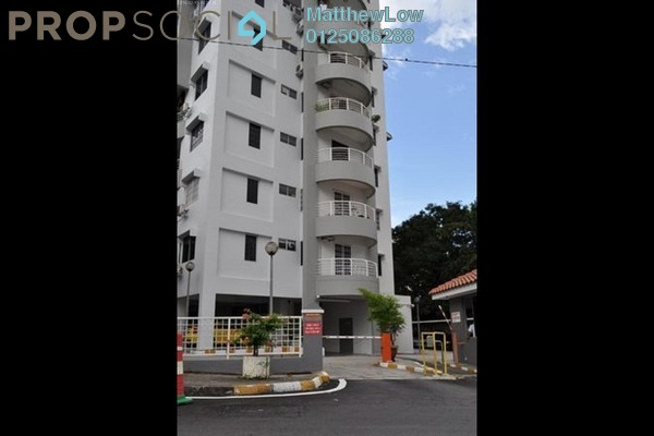 For Rent Apartment at Desa Bukit Jambul, Bukit Jambul Freehold Semi Furnished 3R/2B 1.25k