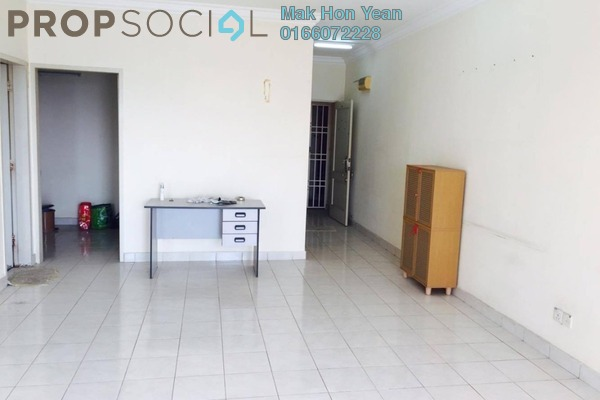 For Sale Apartment at Puteri Bayu, Bandar Puteri Puchong Freehold Semi Furnished 3R/2B 418k
