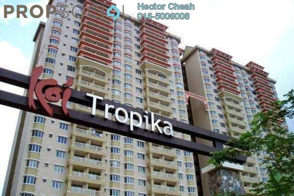 For Sale Condominium at Koi Tropika, Puchong Leasehold Semi Furnished 4R/3B 380k