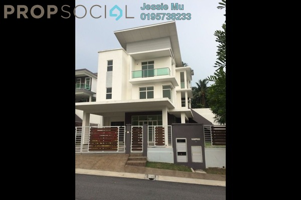 For Sale Bungalow at Sentosa Heights, Kajang Leasehold Semi Furnished 4R/7B 1.68m