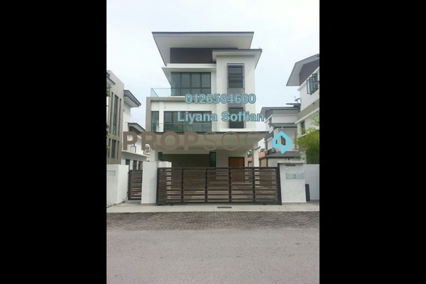 For Sale Bungalow at Grandville, UEP Subang Jaya Leasehold Fully Furnished 5R/5B 3.5m