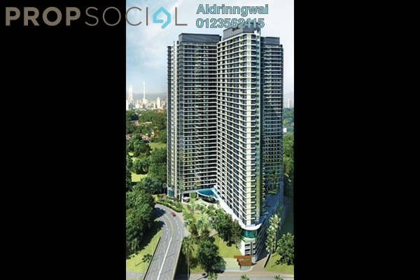 For Rent Condominium at Desa Green Serviced Apartment, Taman Desa Freehold Semi Furnished 3R/2B 2k