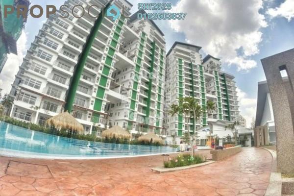 For Rent Condominium at D'Pines, Pandan Indah Leasehold Semi Furnished 4R/2B 2.2k