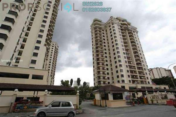 For Rent Condominium at Abadi Villa, Taman Desa Leasehold Fully Furnished 3R/2B 1.95k