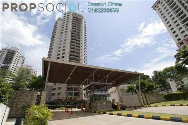 For Sale Condominium at Changkat View, Dutamas Freehold Semi Furnished 3R/2B 650k