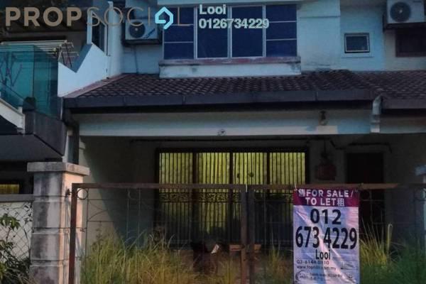 For Sale Terrace at Taman Puncak Kinrara, Bandar Kinrara Leasehold Unfurnished 4R/3B 640k