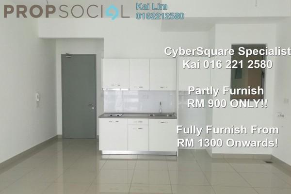 For Sale Condominium at CyberSquare, Cyberjaya Freehold Semi Furnished 1R/1B 255k
