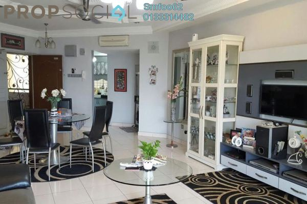For Sale Condominium at Villa Wangsamas, Wangsa Maju Freehold Semi Furnished 3R/2B 600k