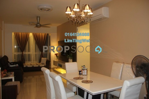 For Sale Condominium at First Residence, Kepong Leasehold Fully Furnished 3R/2B 595k