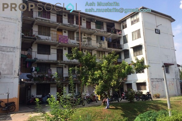 For Sale Apartment at Section 1, Wangsa Maju Leasehold Fully Furnished 2R/1B 175k