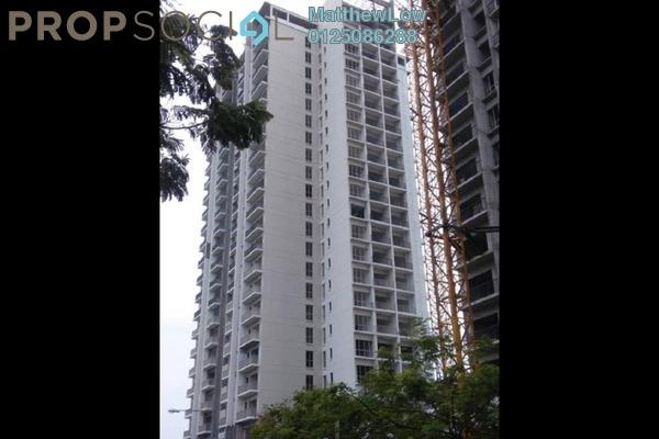 For Rent Condominium at Platinum III, Teluk Kumbar Freehold Semi Furnished 3R/2B 1.6k