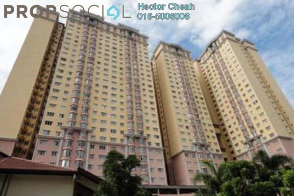 For Rent Condominium at Angkasa Condominiums, Cheras Freehold Semi Furnished 3R/2B 1.4k