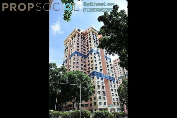 For Sale Condominium at Mutiara Heights, Jelutong Leasehold Semi Furnished 5R/4B 550k