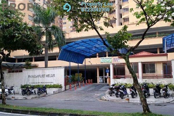 For Rent Condominium at Melur Apartment, Sentul Leasehold Semi Furnished 3R/2B 1.4k