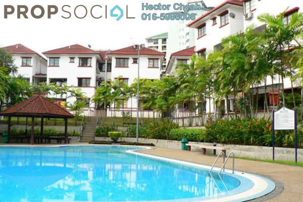 For Rent Condominium at Villa OUG, Old Klang Road Freehold Semi Furnished 3R/2B 1.3k