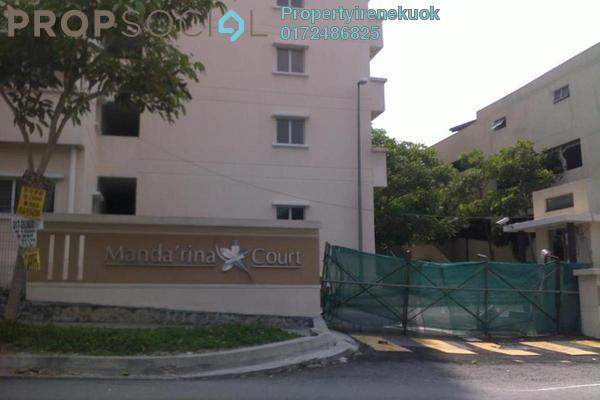 For Rent Apartment at Mandarina Court, Cheras Leasehold Semi Furnished 3R/2B 1.05k