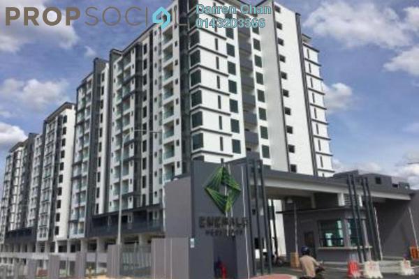 For Rent Condominium at Emerald Residence, Bandar Mahkota Cheras Freehold Unfurnished 3R/2B 2k