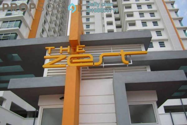 For Sale Condominium at The Zest, Bandar Kinrara Freehold Semi Furnished 3R/2B 548k