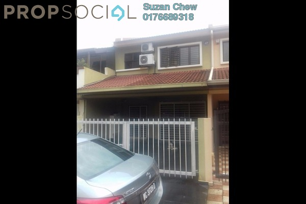 For Sale Terrace at Taman Dagang Permai, Ampang Freehold Semi Furnished 4R/4B 748k