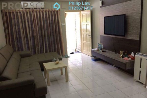 For Rent Townhouse at Amansiara, Selayang Leasehold Fully Furnished 3R/2B 1.4k