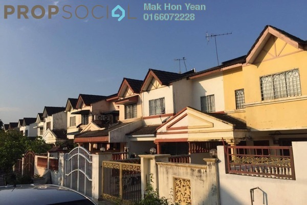 For Sale Terrace at Jalan Merak, Bandar Puchong Jaya Freehold Semi Furnished 4R/3B 638k