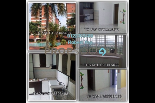 For Sale Condominium at Green Acre Park, Bandar Sungai Long Freehold Semi Furnished 3R/2B 420k