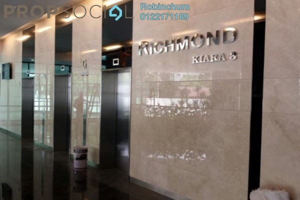 For Sale Condominium at Richmond, Mont Kiara Freehold Semi Furnished 4R/3B 1.5m