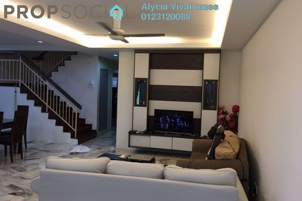 For Sale Terrace at Taman Lestari Perdana, Bandar Putra Permai Leasehold Semi Furnished 4R/3B 720k