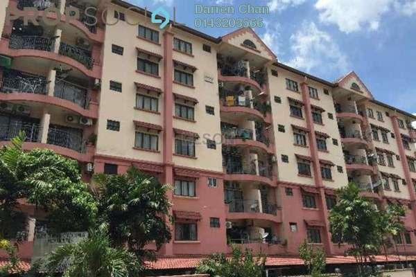 For Rent Condominium at Bukit Gembira Apartment, Kuchai Lama  Semi Furnished 3R/2B 1.5k