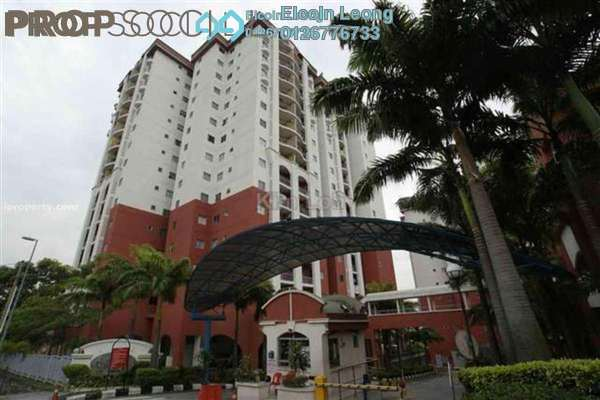 For Rent Condominium at Ketumbar Hill, Cheras Freehold Semi Furnished 3R/2B 1.6k