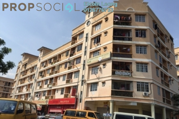 For Sale Apartment at Hata Square, Pandan Indah Leasehold Unfurnished 2R/2B 230k