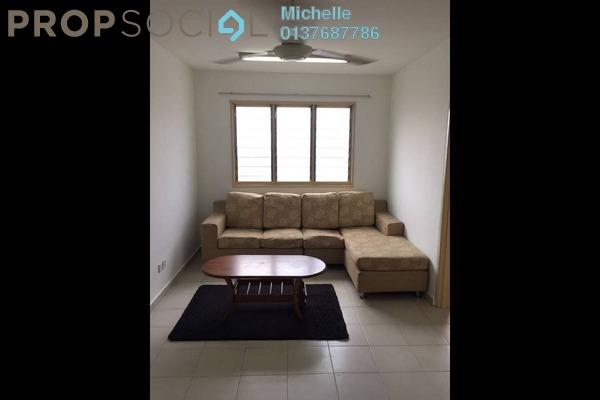 For Rent Apartment at Sri Penara, Bandar Sri Permaisuri Leasehold Semi Furnished 3R/2B 1.2k