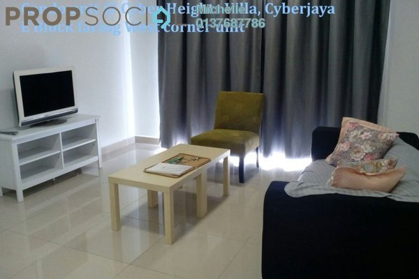 For Sale Condominium at Cyber Heights Villa, Cyberjaya Freehold Fully Furnished 3R/2B 680k