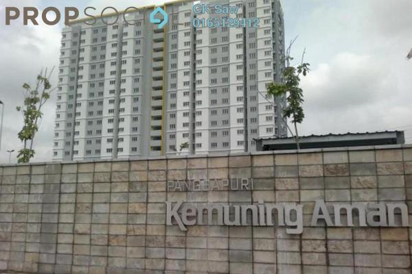 For Rent Condominium at Kemuning Aman, Kota Kemuning Freehold Semi Furnished 3R/2B 950translationmissing:en.pricing.unit