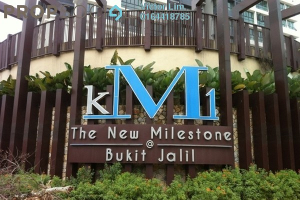 For Sale Condominium at KM1, Bukit Jalil Freehold Semi Furnished 4R/3B 998k