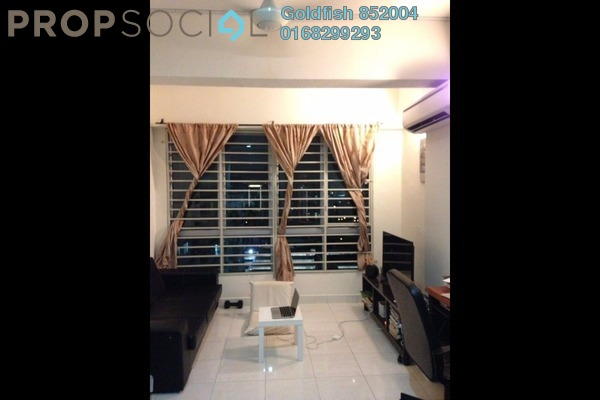 For Rent Apartment at e-Tiara, Subang Jaya Freehold Fully Furnished 2R/1B 1.8k
