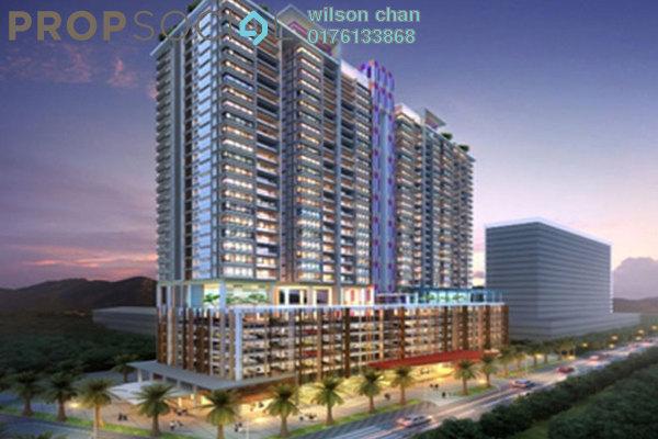 For Rent Condominium at MH Platinum Residency, Setapak Freehold Semi Furnished 3R/2B 2.1k