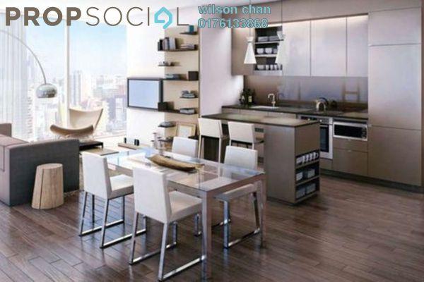 For Rent Condominium at Platinum Lake PV12, Setapak Leasehold Semi Furnished 3R/2B 1.4k